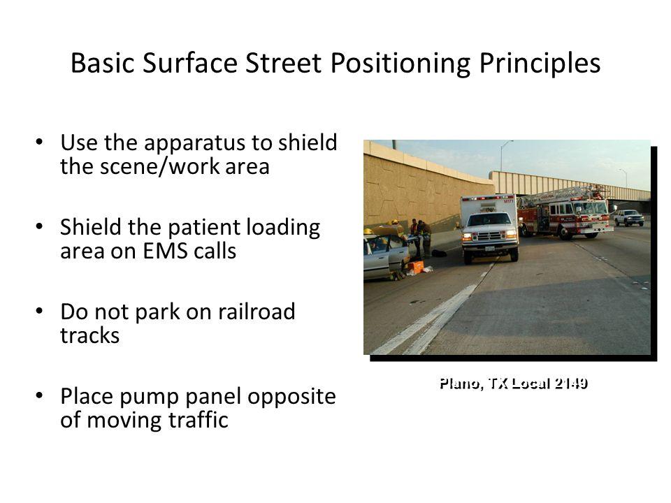 Basic Surface Street Positioning Principles