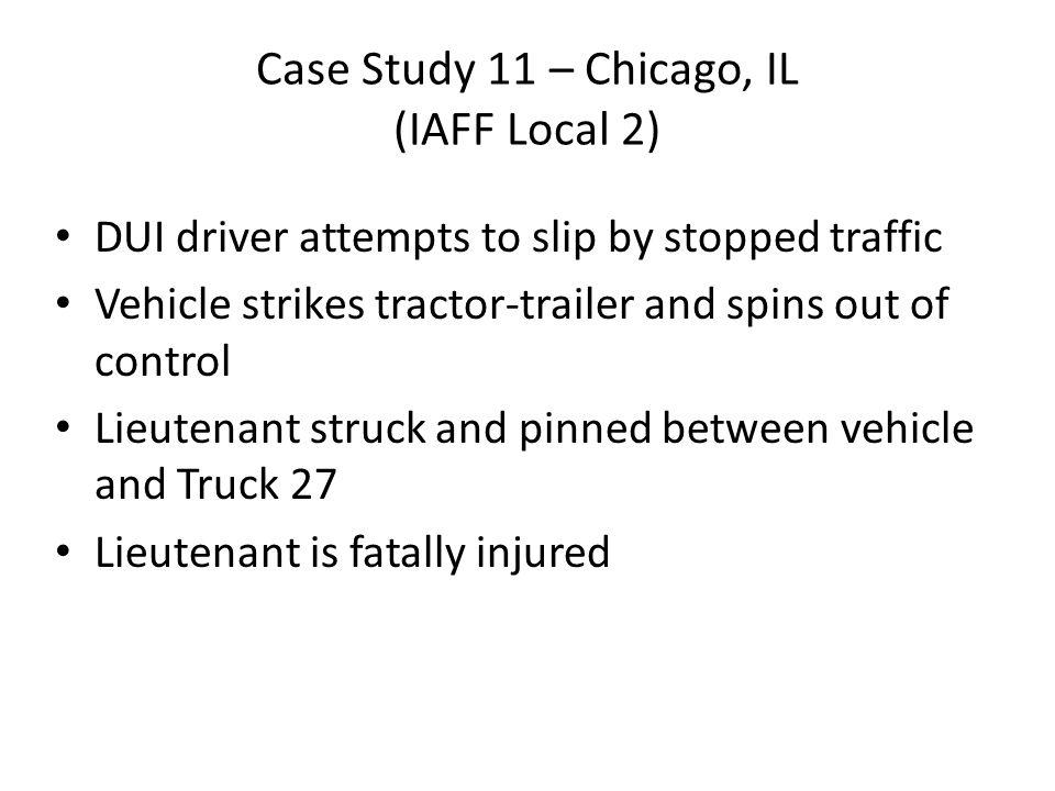 Case Study 11 – Chicago, IL (IAFF Local 2)