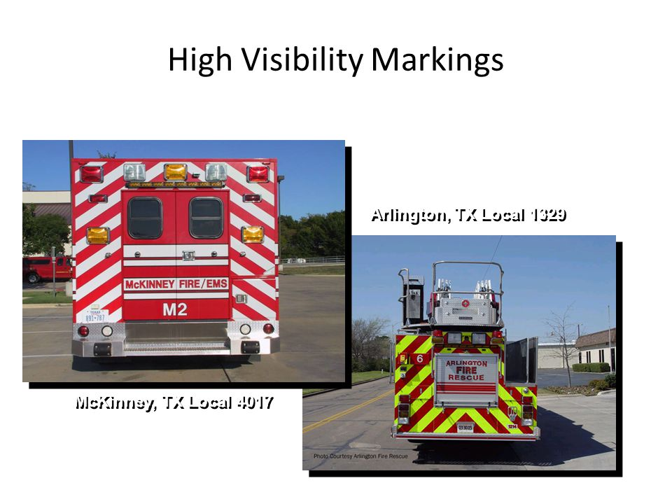 High Visibility Markings