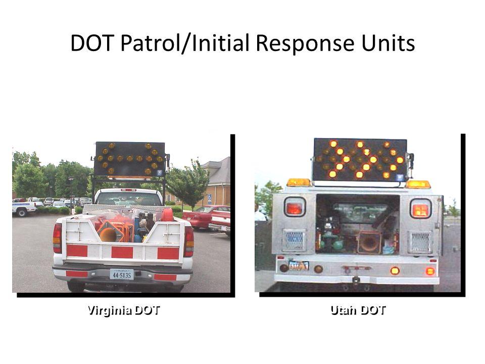 DOT Patrol/Initial Response Units