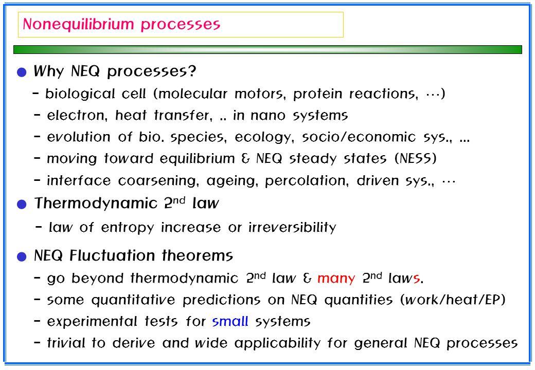 Nonequilibrium processes