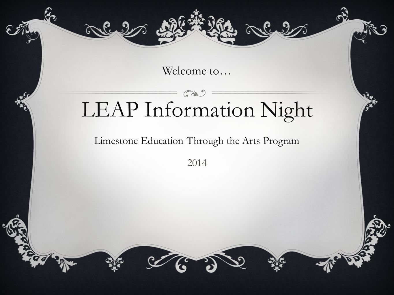 LEAP Information Night