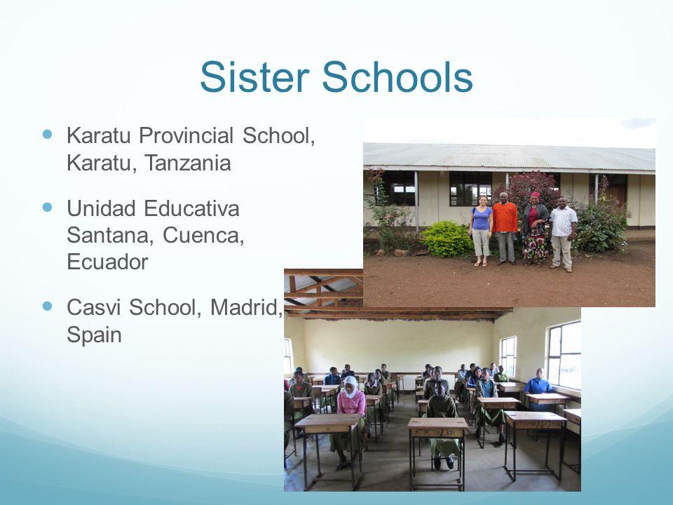 Sister Schools Karatu Provincial School, Karatu, Tanzania