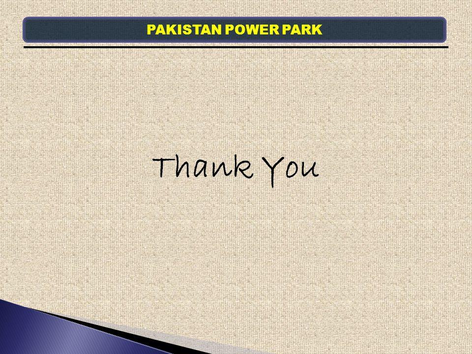 PAKISTAN POWER PARK Thank You