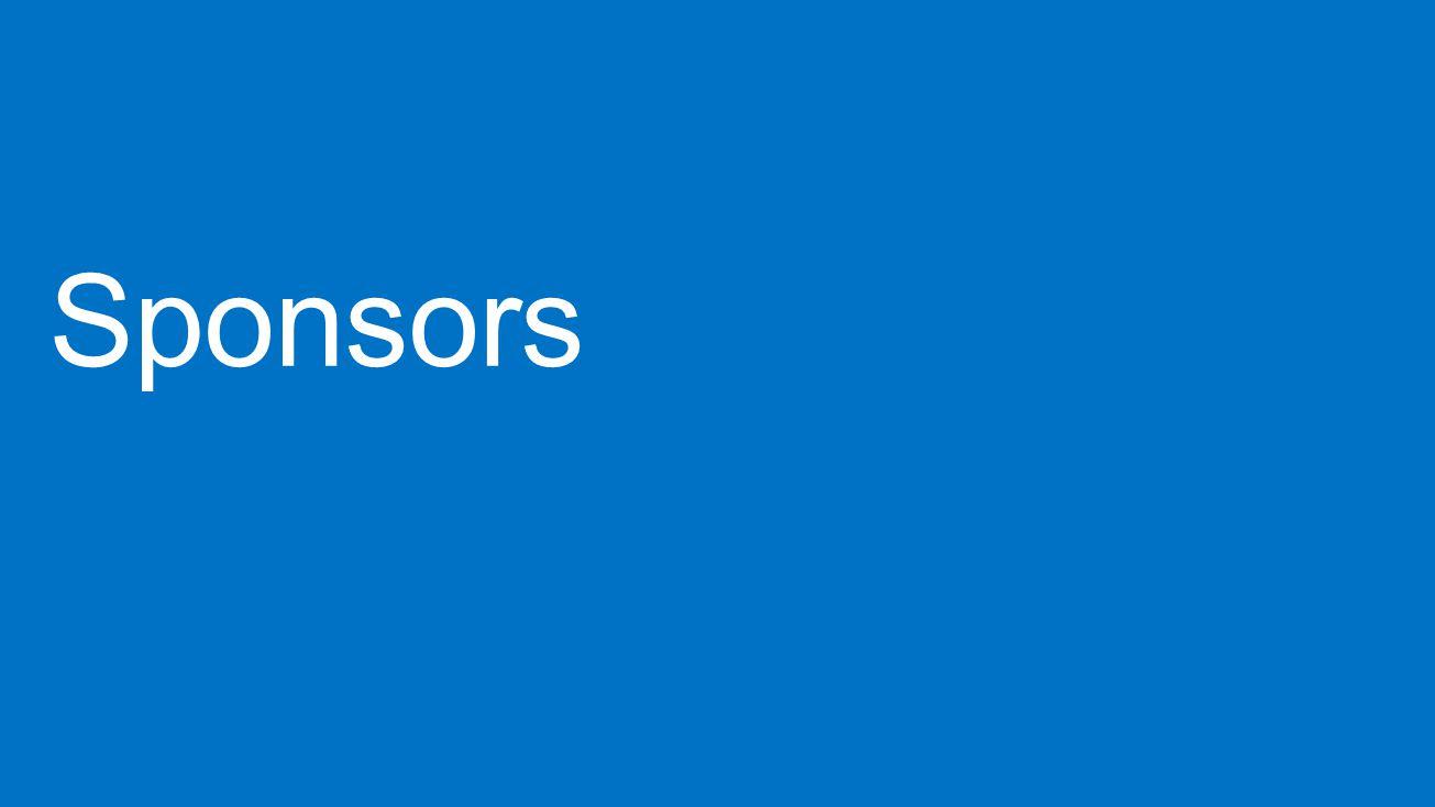Lync 2014 4/1/2017. Sponsors.