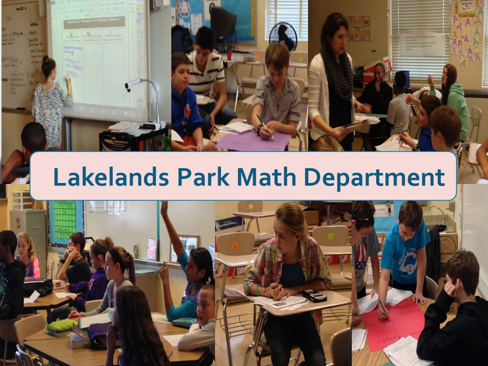 Lakelands Park Math Department