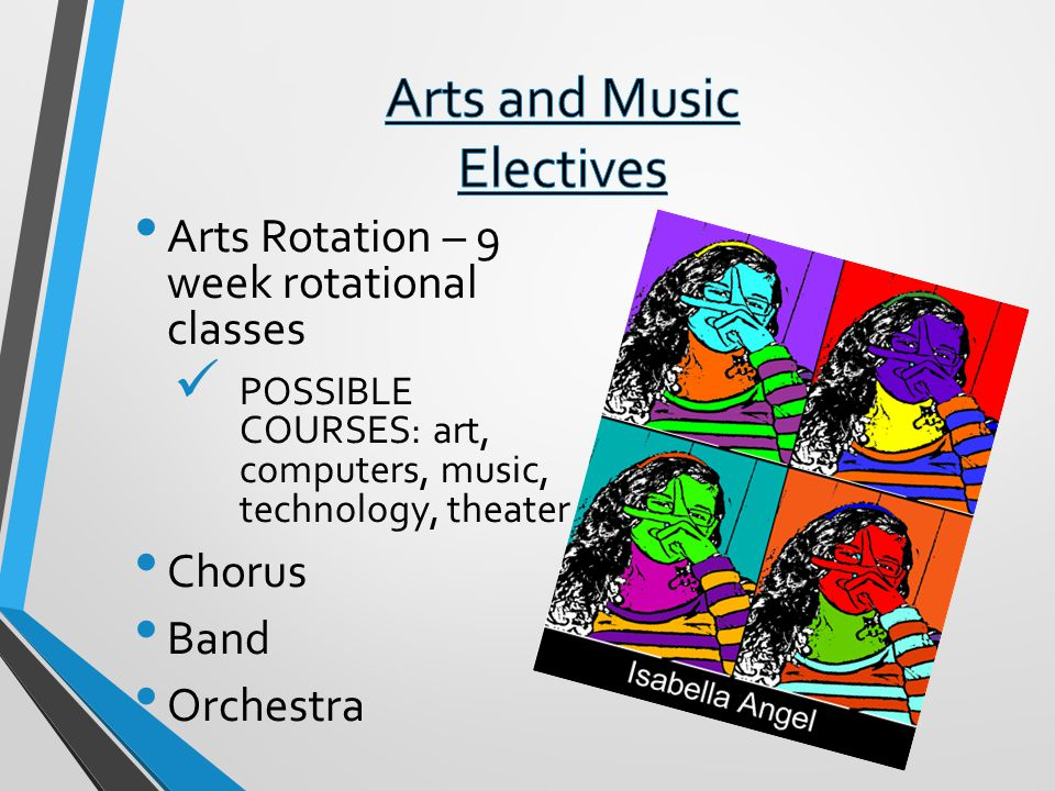 Arts and Music Electives