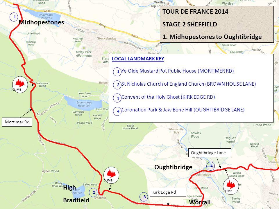 1. Midhopestones to Oughtibridge Midhopestones