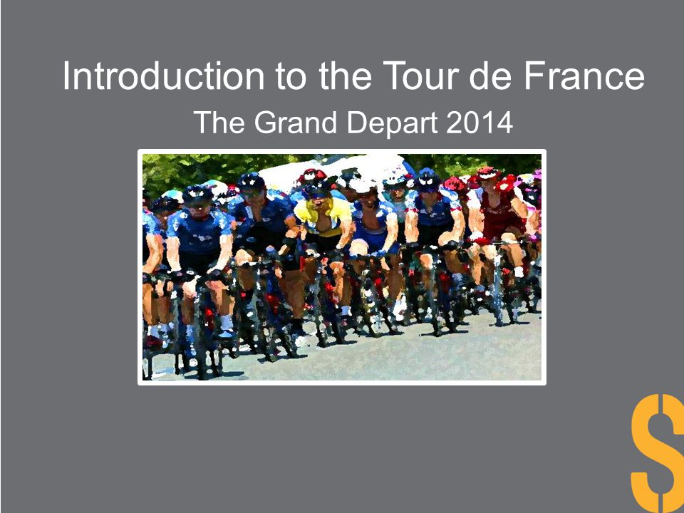 Introduction to the Tour de France