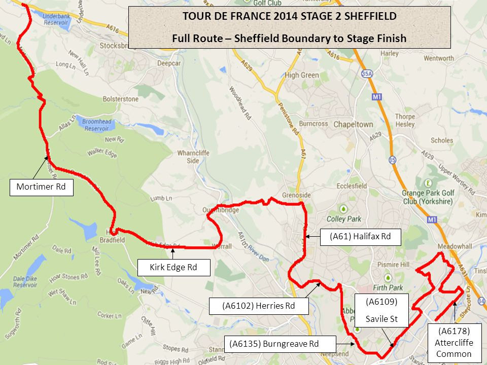 TOUR DE FRANCE 2014 STAGE 2 SHEFFIELD