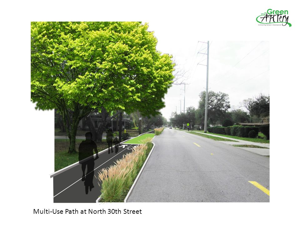 Multi-Use Path at North 30th Street