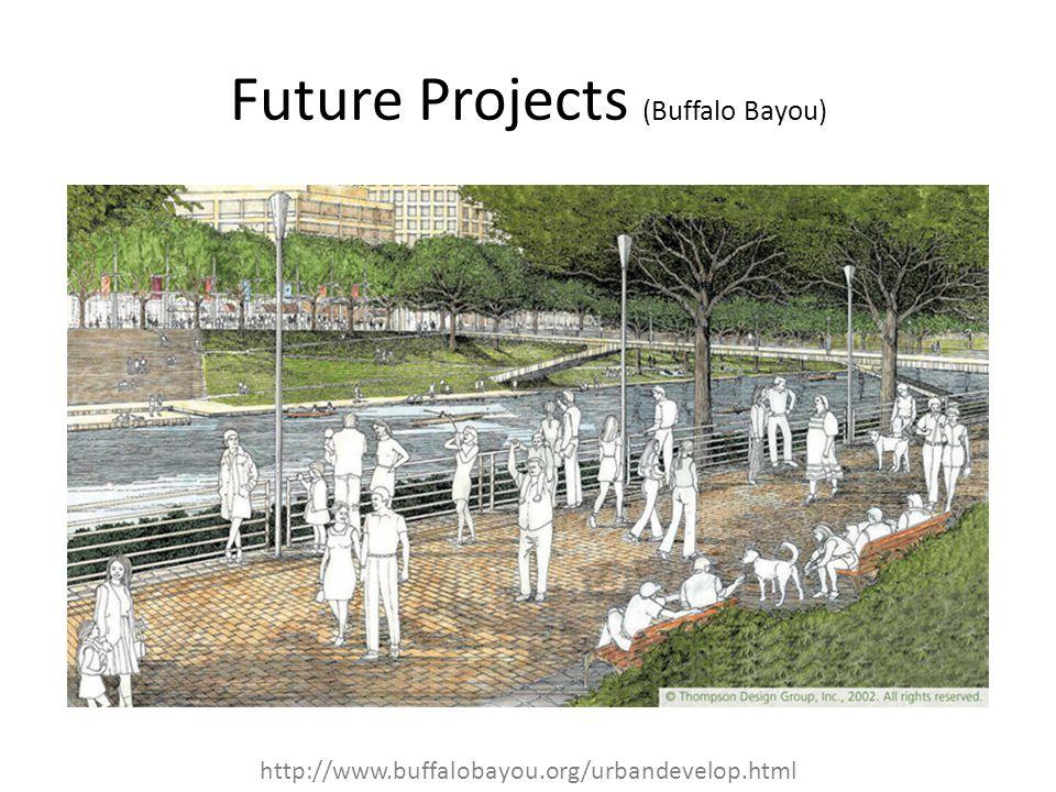 Future Projects (Buffalo Bayou)