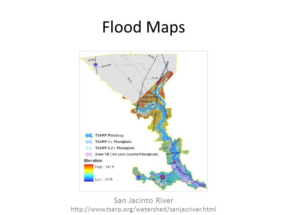 Flood Maps San Jacinto River