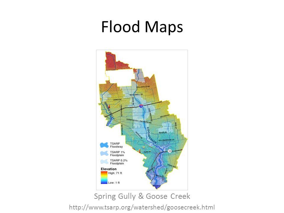 Spring Gully & Goose Creek