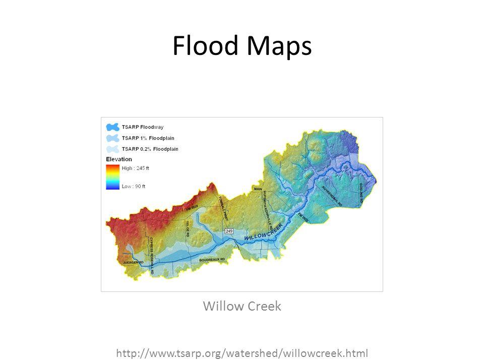 Flood Maps Willow Creek