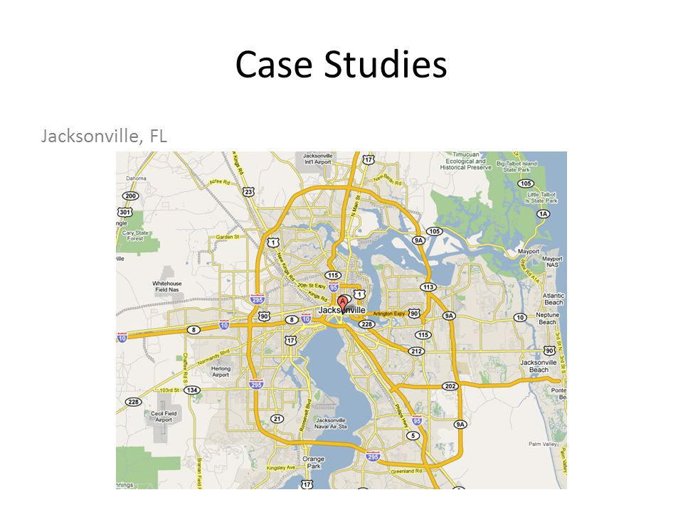 Case Studies Jacksonville, FL
