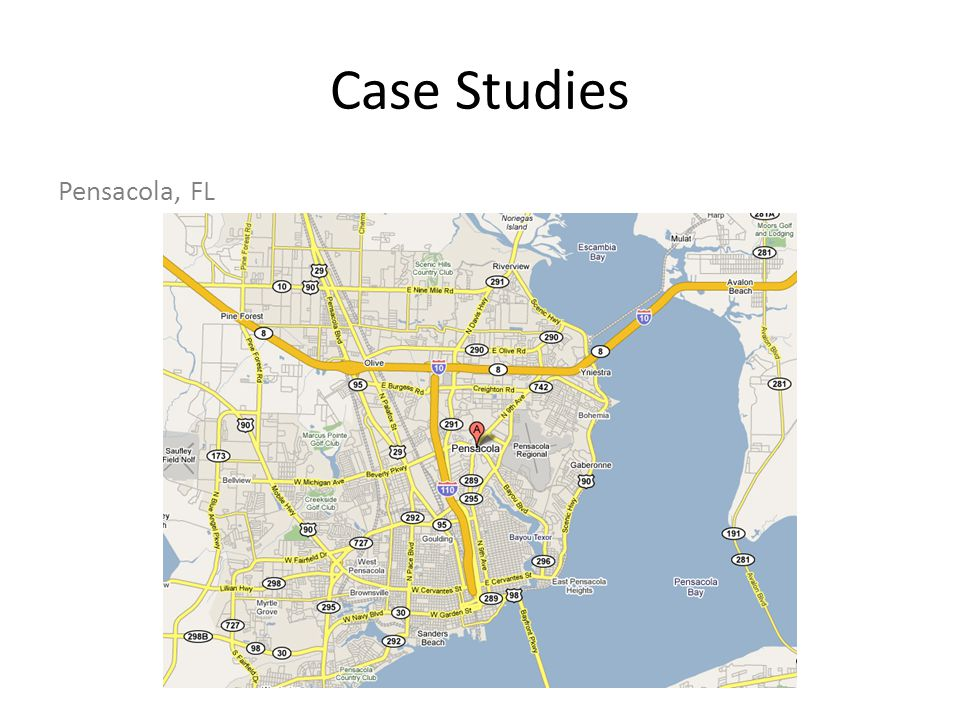 Case Studies Pensacola, FL