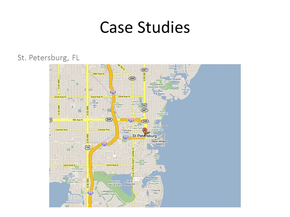 Case Studies St. Petersburg, FL