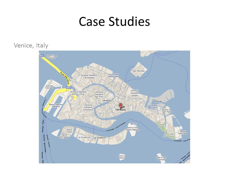 Case Studies Venice, Italy