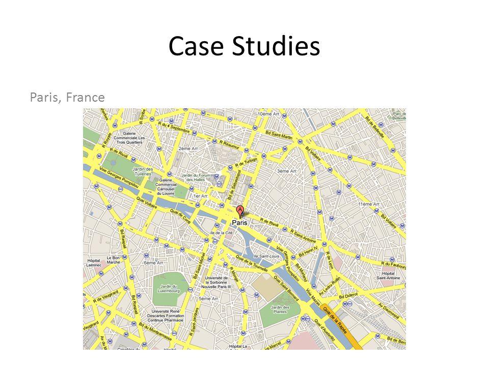 Case Studies Paris, France