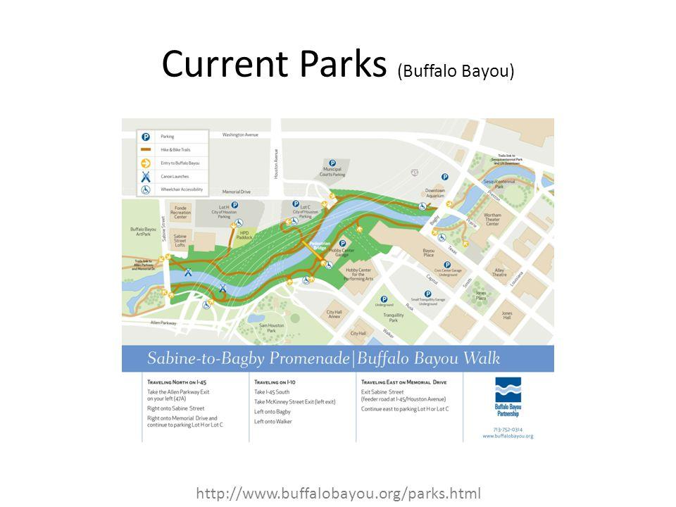Current Parks (Buffalo Bayou)