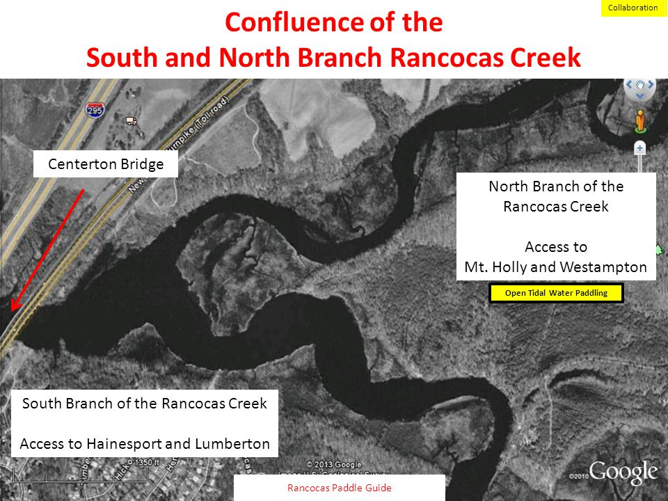South and North Branch Rancocas Creek Open Tidal Water Paddling