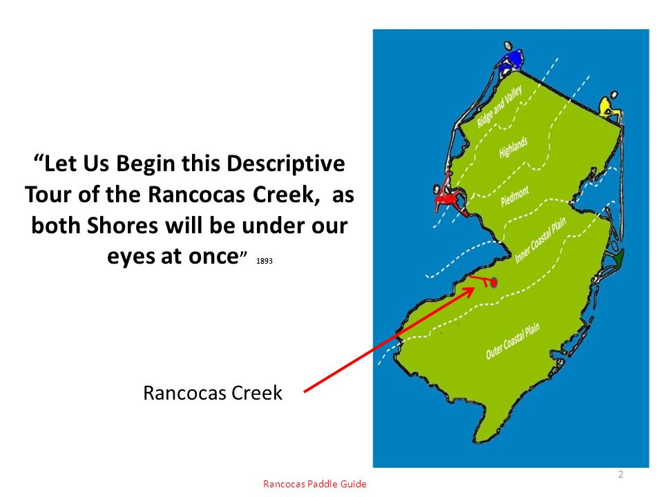 Let Us Begin this Descriptive Tour of the Rancocas Creek, as both Shores will be under our eyes at once 1893