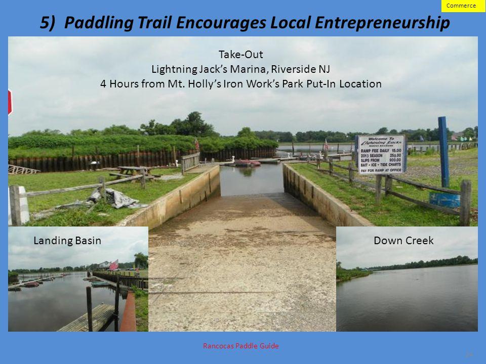 5) Paddling Trail Encourages Local Entrepreneurship