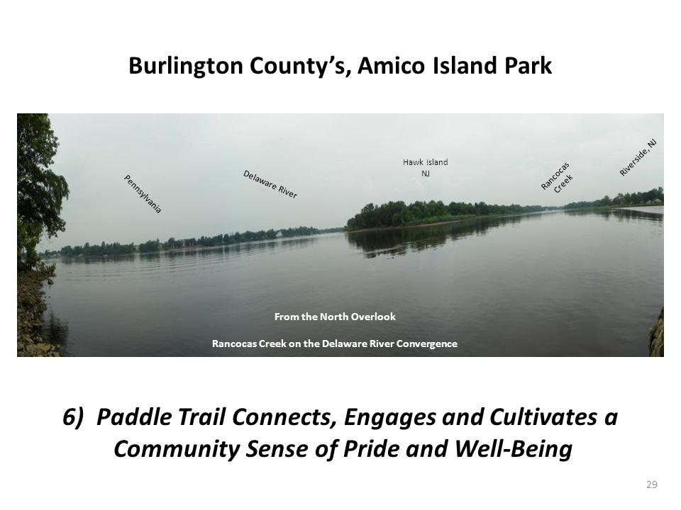 Burlington County's, Amico Island Park