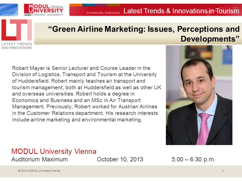 Green Airline Marketing: Issues, Perceptions and Developments