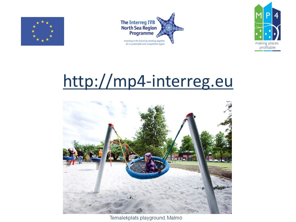 http://mp4-interreg.eu Temalekplats playground, Malmö