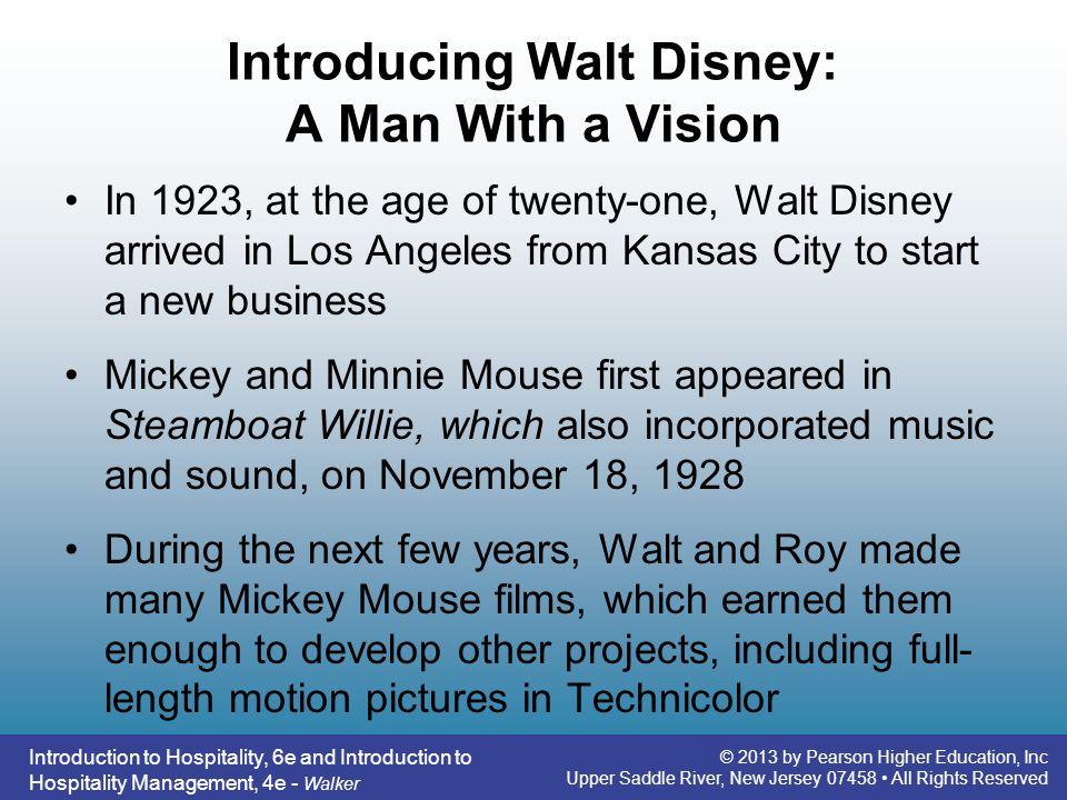 Introducing Walt Disney: A Man With a Vision