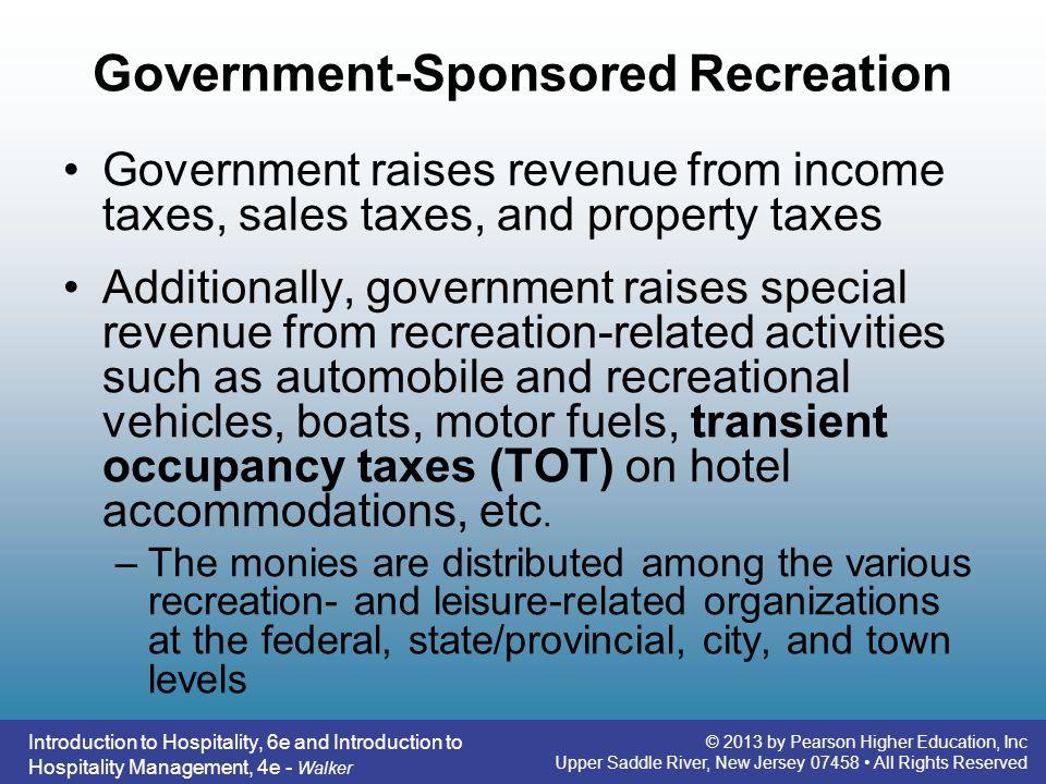 Government-Sponsored Recreation