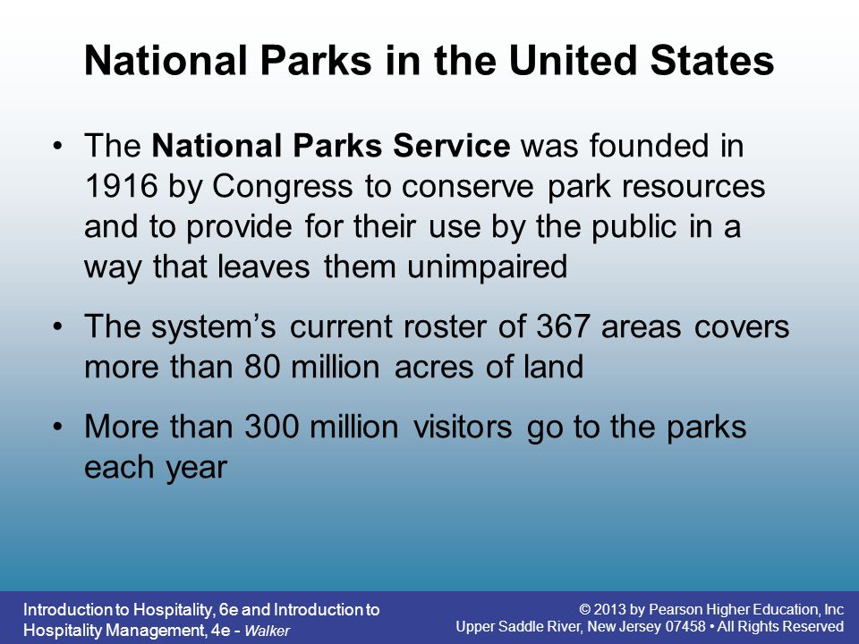 National Parks in the United States