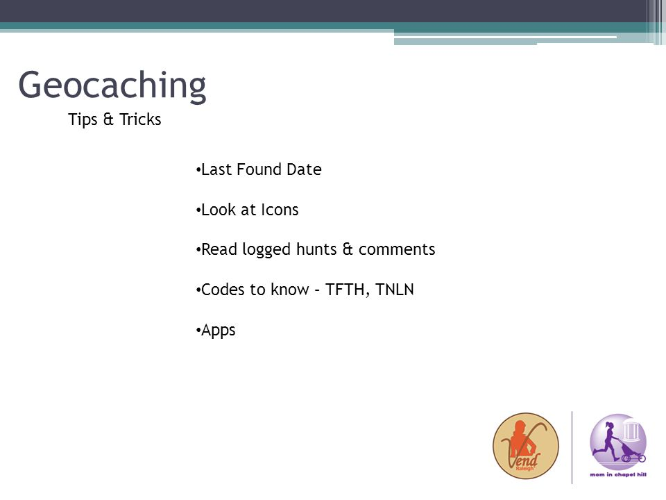 Geocaching Tips & Tricks Last Found Date Look at Icons