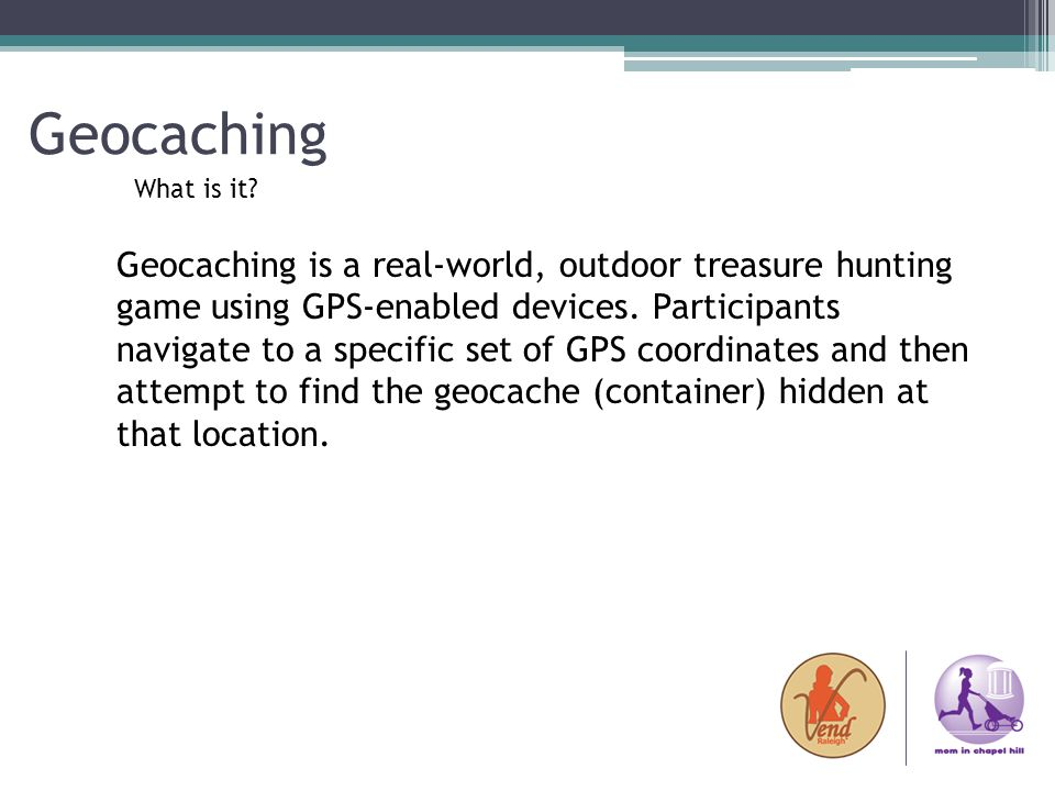 Geocaching What is it