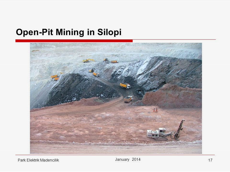 Open-Pit Mining in Silopi