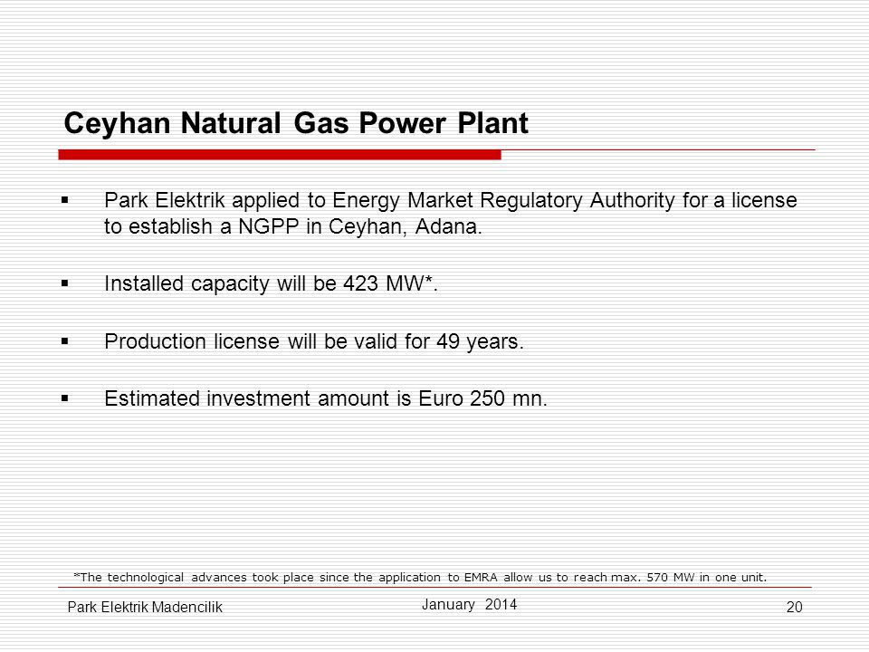 Ceyhan Natural Gas Power Plant