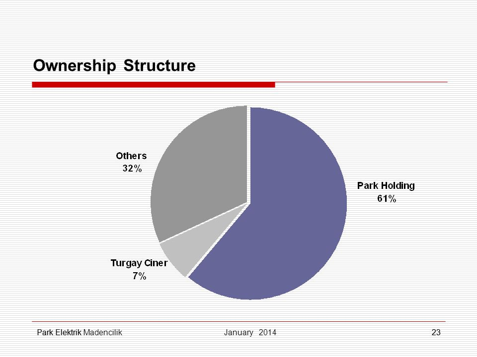 Ownership Structure jopjp Park Elektrikjkljklşj jkljklşj 23