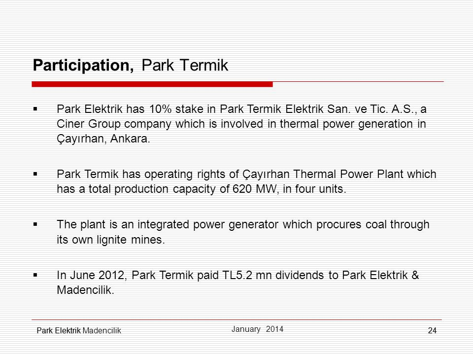 Participation, Park Termik