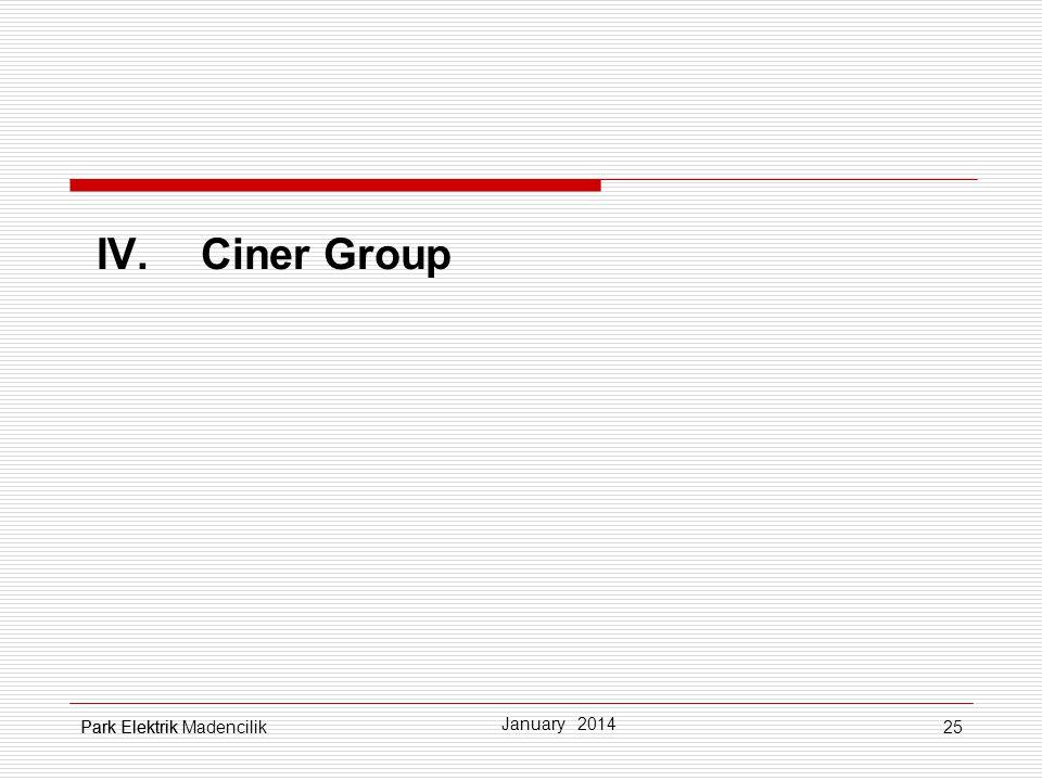 IV. Ciner Group Park Elektrikjkljklşj Park Elektrik