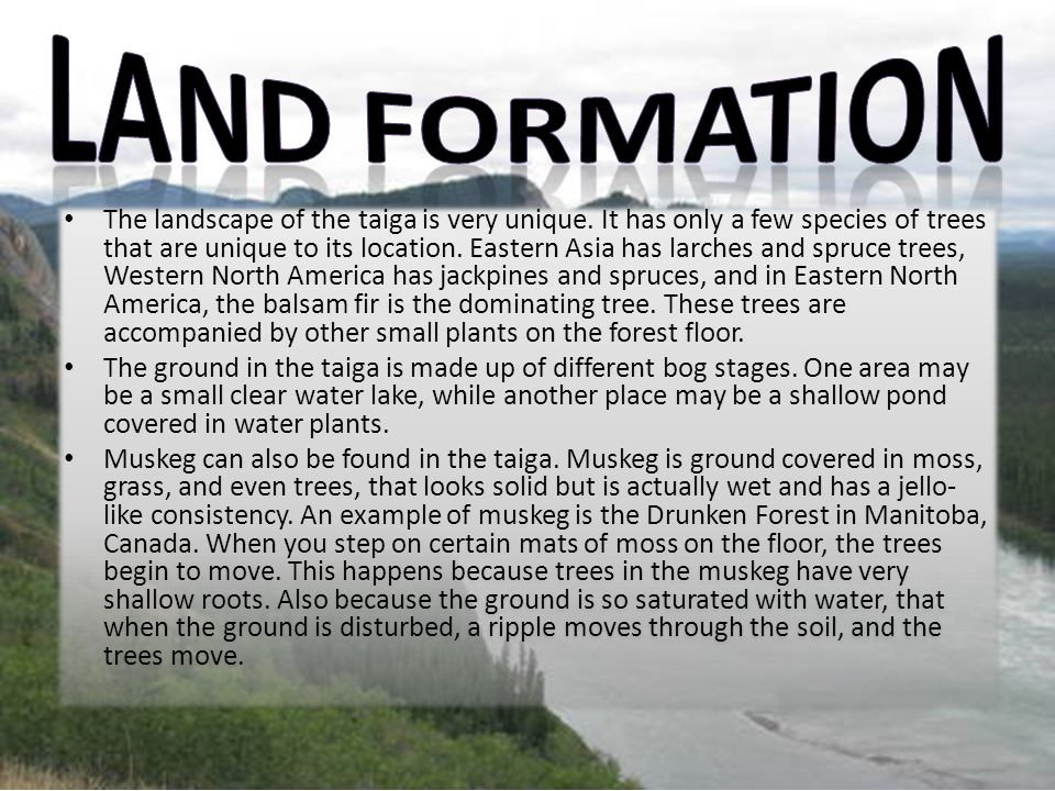 Land Formation