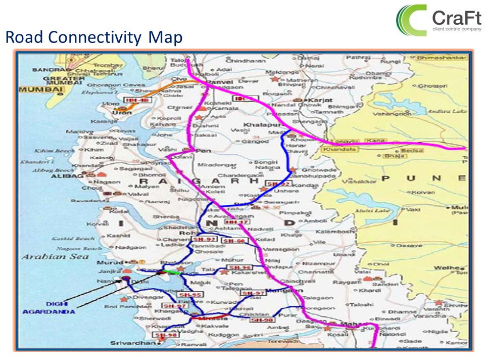 Road Connectivity Map