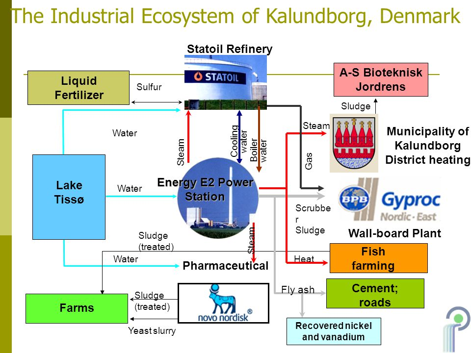 The Industrial Ecosystem of Kalundborg, Denmark