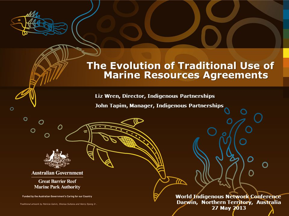 The Evolution of Traditional Use of Marine Resources Agreements