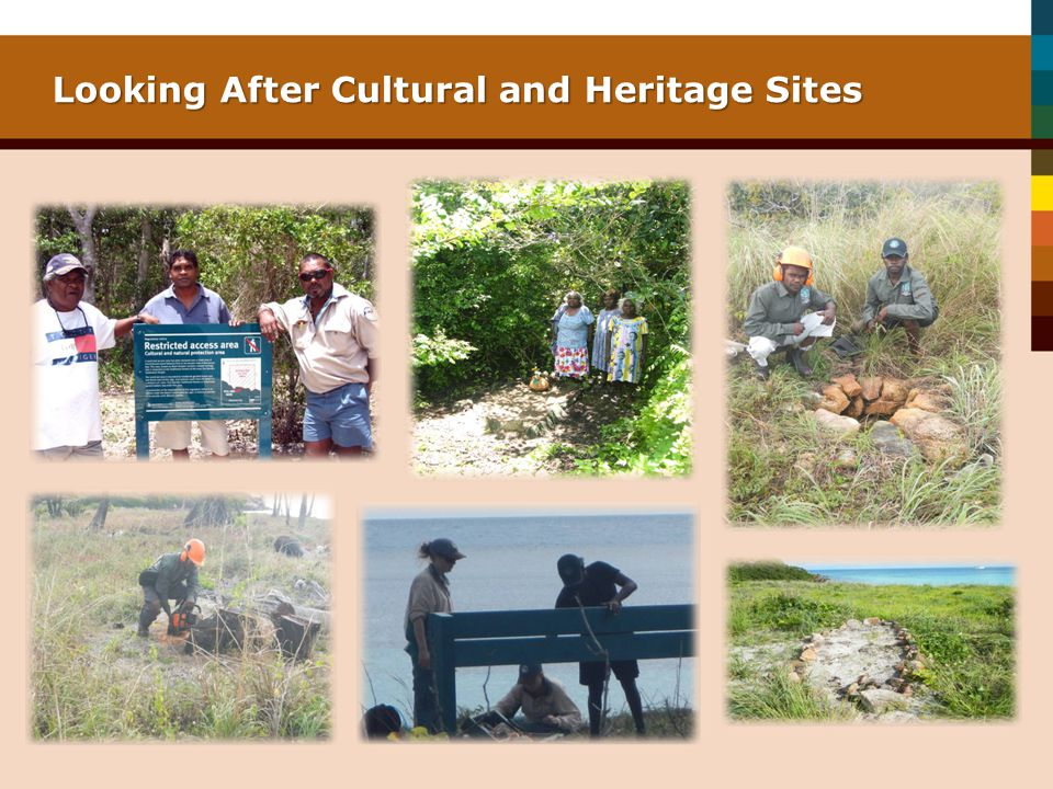 Looking After Cultural and Heritage Sites