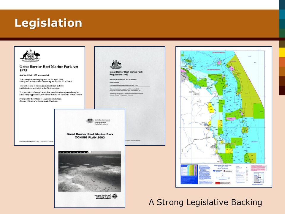 Legislation A Strong Legislative Backing