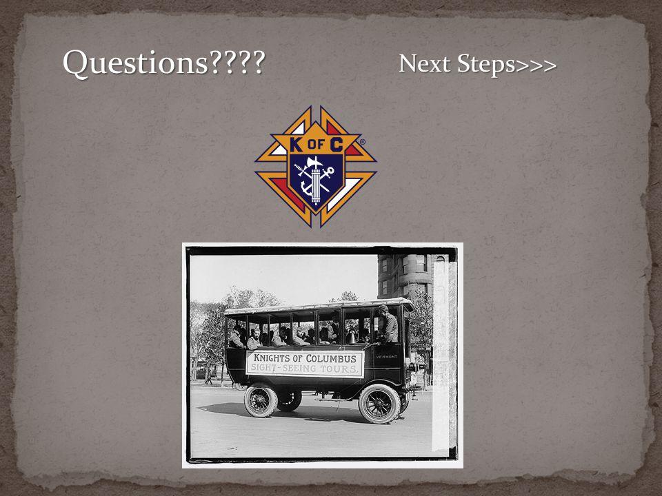 Questions Next Steps>>>