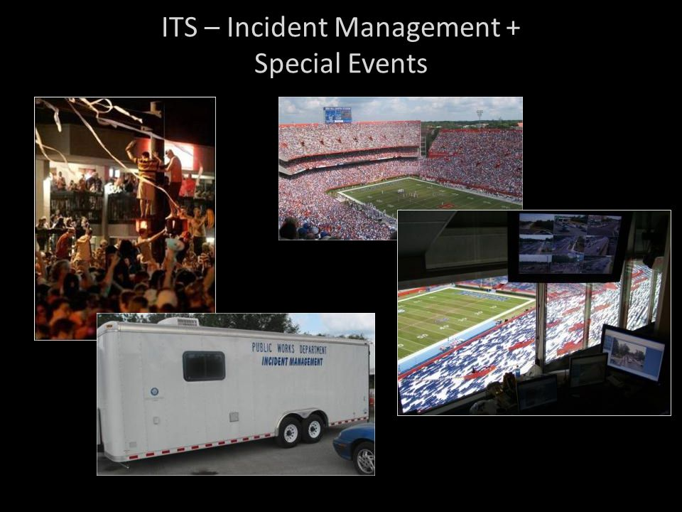 ITS – Incident Management + Special Events