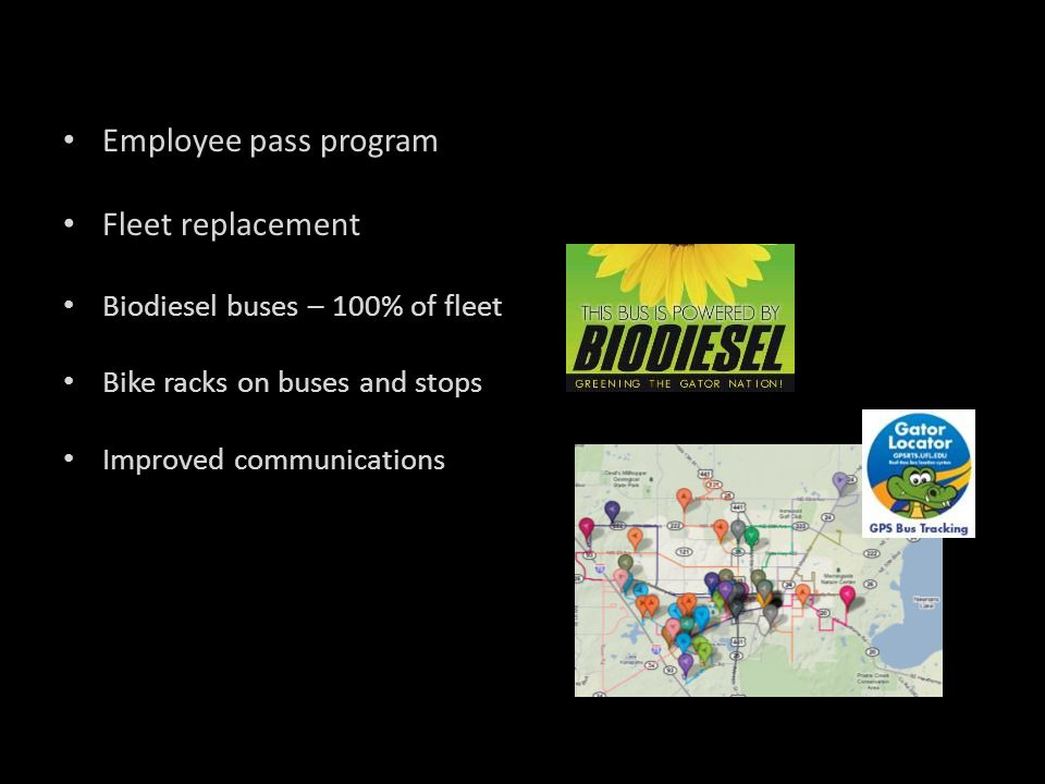 Employee pass program Fleet replacement